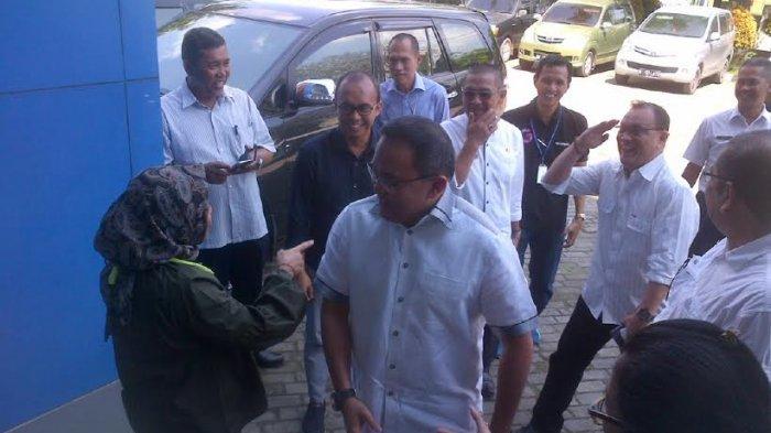 Bupati Muba, Dodi Reza Alex Kunjungi Graha Tribun