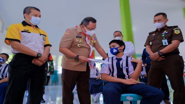 Tekan Peyebaran Covid-19 Kalangan Pelajar, Muba Targetkan 63.350 Peserta Didik dan Remaja Divaksin