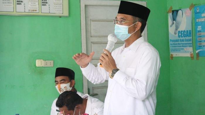 Bupati Musi Rawas Minta Masyarakat Kecamatan Sukakarya Pertahankan Status Zero Covid-19