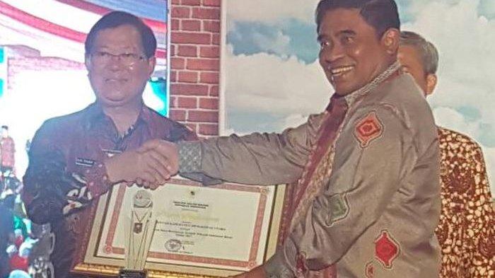 Muratara Terima Penghargaan Sebagai Daerah Otonom Baru Berkinerja Terbaik