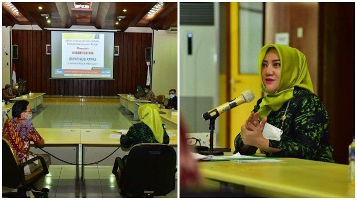 Bupati Musi Rawas Terima Sertifikat SK Varietas Padi Lokal Musi Rawas oleh Kepala BATAN