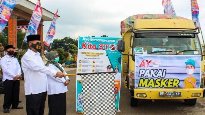 Bantu Masyarakat Terdampak Covid-19, Pemkab Musirawas Salurkan Bantuan Beras 35 Ton di 3 Kecamatan