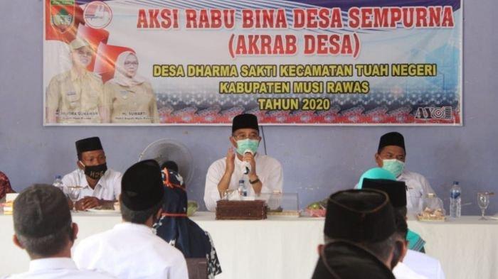 Program Akrab Desa, Bupati Musirawas H2G Kunjungi 6 Desa di Kecamatan Tuah Negeri