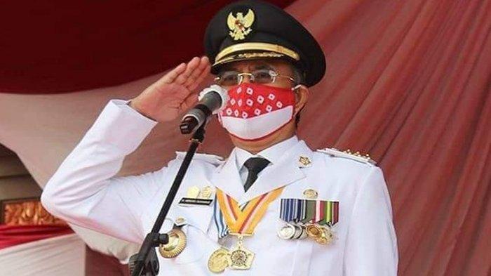 Bupati Musirawas Pimpin Upacara HUT Kemerdekaan RI ke-75 dengan Menerapkan Protokol Kesehatan