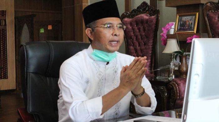 Gelar Halal Bihalal Virtual, Bupati Musirawas Ajak Jajaran Terus Koordinasi untuk Hadapi Covid-19