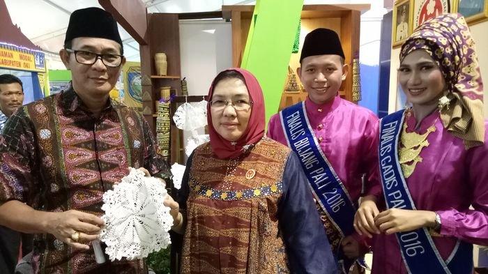 Kerajinan PALI Unjuk Gigi di Sumatera Selatan Expo 2017