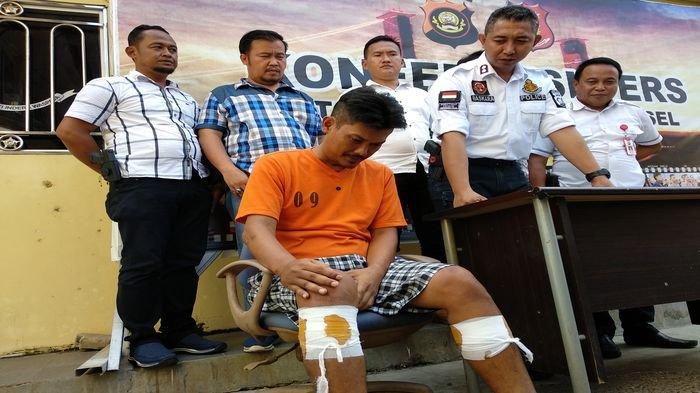 Setahun Buron, Petugas Berhasil Tangkap Pelaku Begal Hingga Dilumpuhkan Pakai Timah Panas