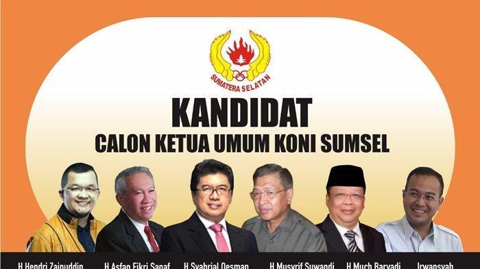 Jelang Musorprovlub, Enam Nama Mencuat Sebagai Calon Ketua Umum KONI Sumsel