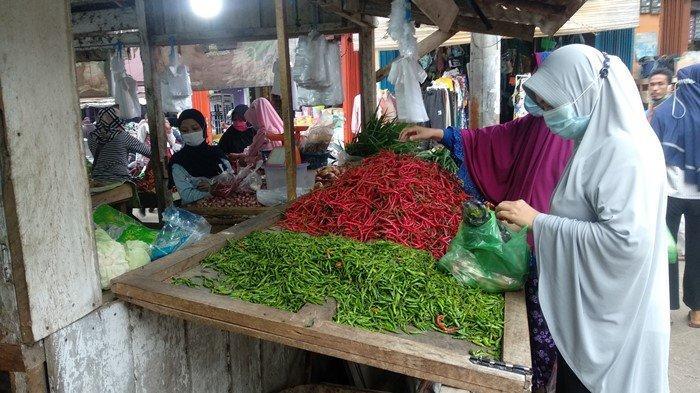 Jelang Ramadhan, Harga Cabai Setan di Lubuklinggau Mulai Turun Drastis, Ini Sebabnya