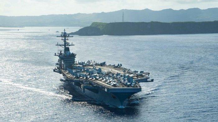 BOCORAN Intelijen: Joe Biden Siagakan Armada AS, Perang di Laut China Bisa Meletus Tahun Ini