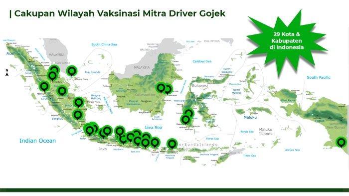 Rambah 29 Kota, Vaksinasi Mitra Driver Gojek Makin Masif dan Terluas di Indonesia dari Sumatra-Papua