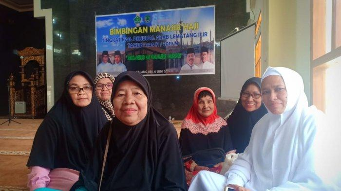 Lansia Dominasi CJH Asal Kabupaten PALI, Mulai Ikuti Bimbingan Tahapan Manasik Haji