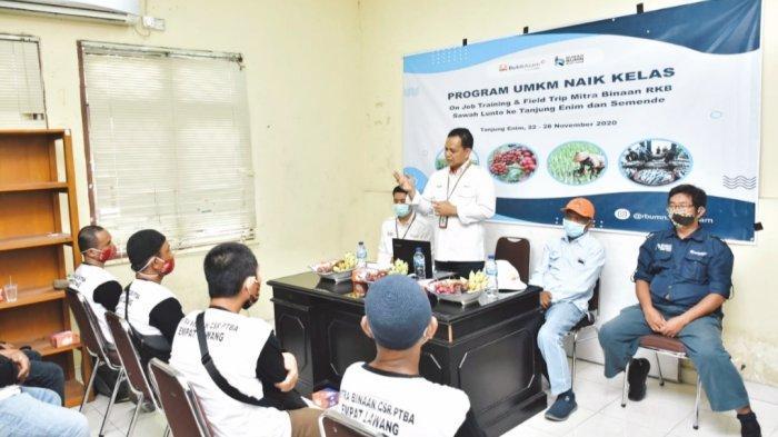 RKB Sawahlunto Magang di Tanjung Enim Dan Semende, Terima Kasih PTBA yang Memberikan Kesempatan