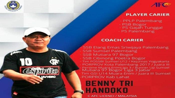 Digoda Tim Palembang Sportivo FC, Pelatih Benny Tri Handoko: Saya Komitmen Tunggu PS Palembang