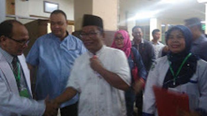 Calon Wakil Bupati Muba Ahmad Toha Datang Terakhir