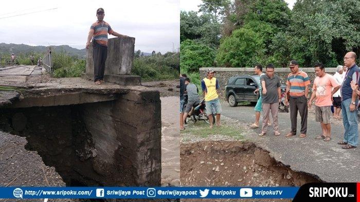 Informasi Banjir Bandang di Nanjungan Paiker Empatlawang, Ini Penjelasan Camat Paiker Noperman