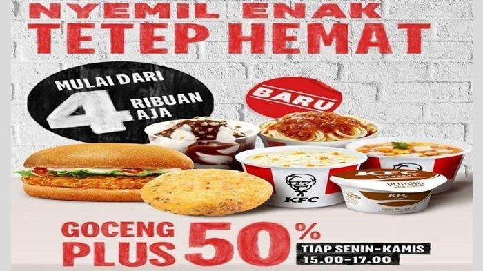 Promo KFC untuk Cemilan Sore Mulai Rp 4 Ribuan, Buruan! Hanya 4 Hari