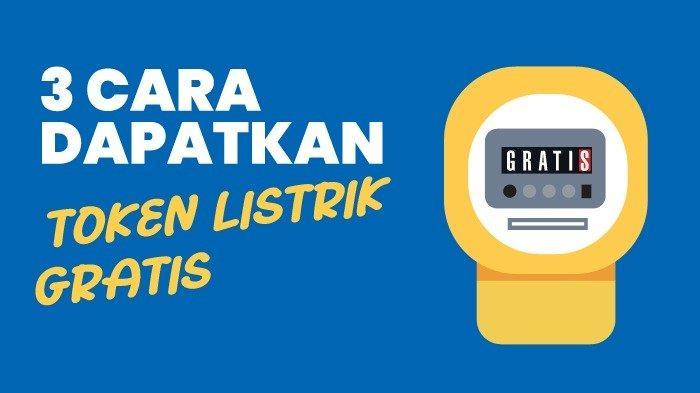 Begini 2 Cara Dapat Token GratisSubsidi Listrik PLN Bulan September 2021