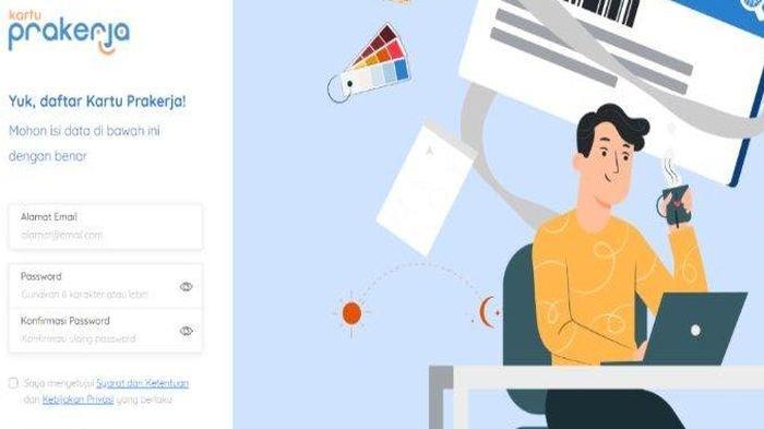 Hari Ini Pendaftaran Kartu Prakerja Gelombang 6 Dibuka, Segera Login www.prakerja.go.id, Ini Caranya