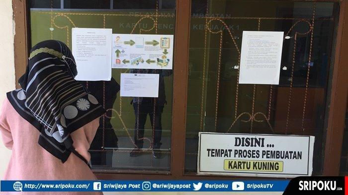 CARA Mendapatkan Kartu Kuning atau Kartu Pencari Kerja (AK1) dari Disnaker Palembang Secara Online