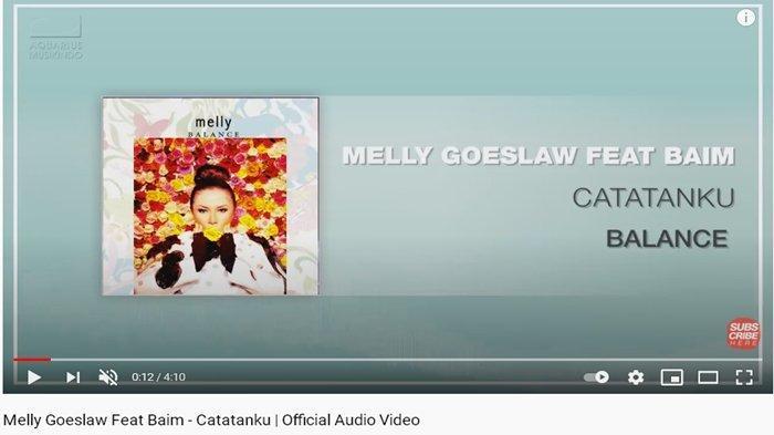 Catatanku - Melly Goeslaw feat Baim