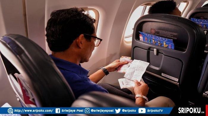 Sandiaga Tersentak dan Sedih Setelah Baca Surat dari Pegawai Bandara SMB II Palembang, Begini Isinya
