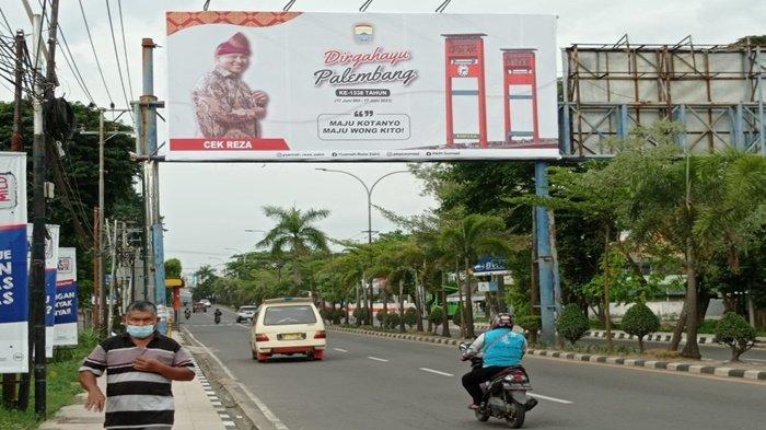 Siapa Cek Reza, Balihonya Bermunculan di Palembang, Pengusaha Muda yang Dikaitkan Maju Pilkada ?