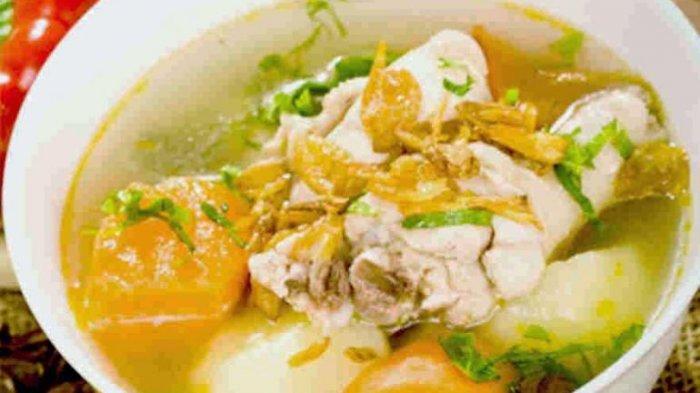 Sop Ceker Ayam, Kuliner Pengobat Pilek, Nikmati Selagi Hangat