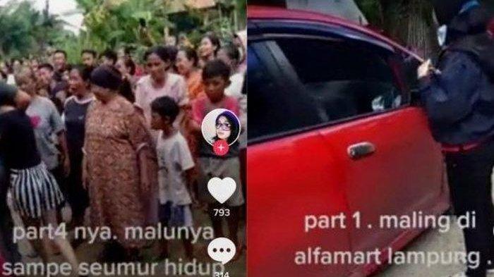 Pakai Mobil Mewah, 3 Cewek di Lampung ini Ketahuan WargaCuri Skincare di Minimarket