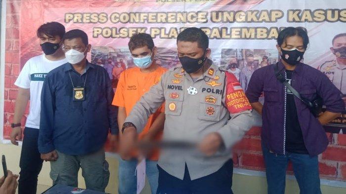Charger Hp Jatuh, Emosi Paman di Palembang Tersulut, Ancam Keponakan dengan Sajam