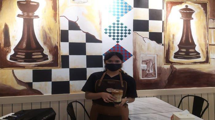 Kafe Catur Pertama di Palembang Ada di Jalan Sersan Sani Dilengkapi Ornamen Hingga Filosofi Catur
