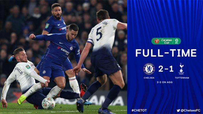 Hasil Piala Liga Inggris - Menang Adu Penalti, Chelsea Lolos ke Final