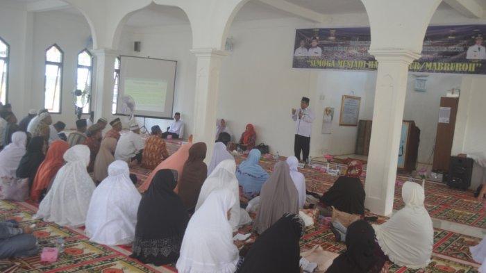 47 Calon Jamaah Haji Mengikuti Manasik Haji