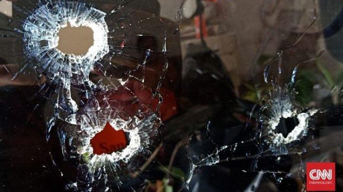 Sempat Dipepet, Anggota TNI dan Isteri Ditembak OTK Saat Berada di Dalam Mobil