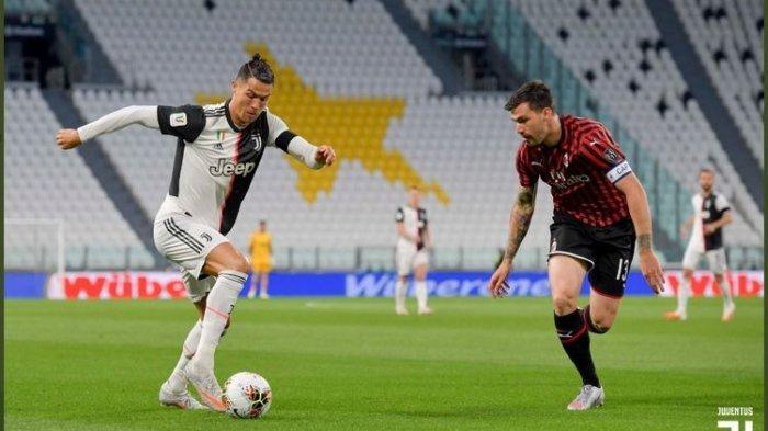 Juventus Depak AC Milan dari Coppa Italia, Menunggu Napoli vs Inter, Cristiano Ronaldo Gagal Penalti
