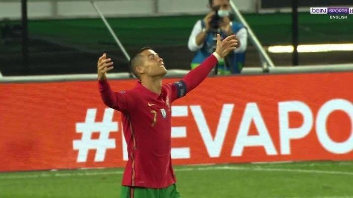 Terungkap Penyebab KemarahanCristiano Ronaldo Saat Lawan Serbia, Berawal Dari Golnya Tak Dianggap