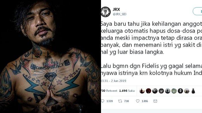 Jerinx Tulis Kalimat Ini Terkait Meninggalnya Ani Yudhoyono, Cuitannya Malah Viral & Berbuah Kecaman