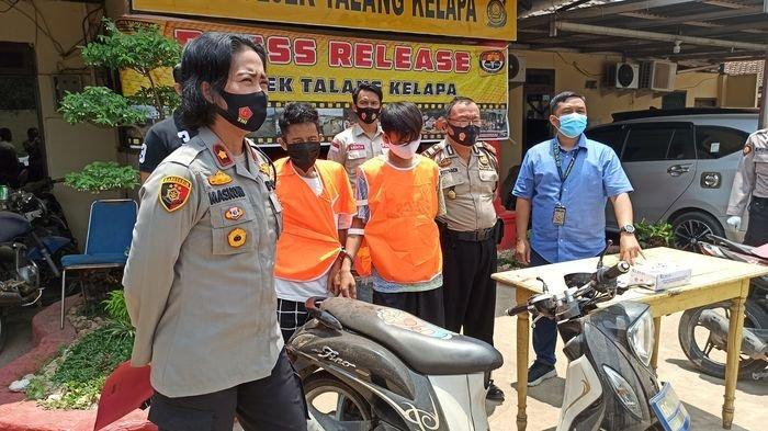 Belum Sempat Jual Motor Hasil Curian, 2 Pemuda di Palembang Ini Sudah Ditangkap Polsek Talang Kelapa