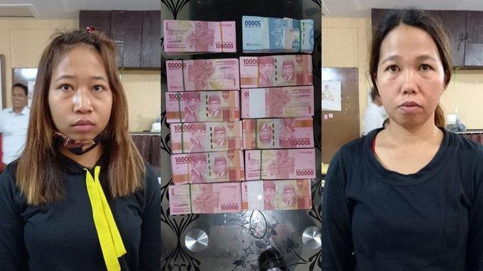 Dua Wanita Berambut Pirang Nekat Mencuri Uang Majikan Senilai 117 Juta, Katanya Lagi Banyak Utang