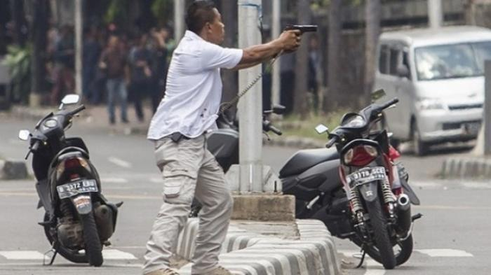 5 TAHUN Lalu, Sendirian Jibaku dengan Teroris Bom Sarinah, Kini  AKBP Untung Sangaji Disorot Tito