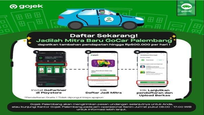 Yuk Jadi Mitra GoCar Palembang