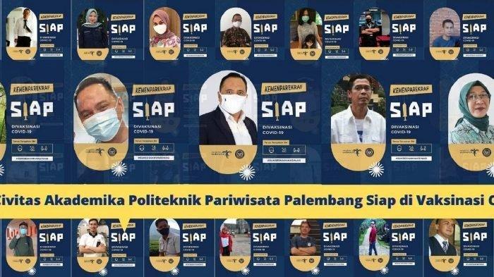 Civitas Akademika Poltekpar Palembang Siap Divaksin