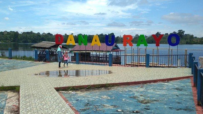 Ramai Saat Pandemi, Objek Wisata Danau Rayo Muratara Sepi Nyaris tanpa Pengunjung Akhir Pekan Ini
