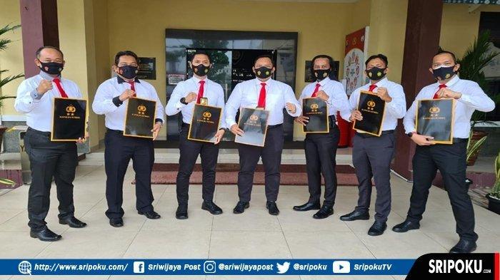 Ungkap Kasus Pembunuhan, Pidum Polrestabes Palembang dan Jatanras Polda Sumsel Dapat Penghargaan