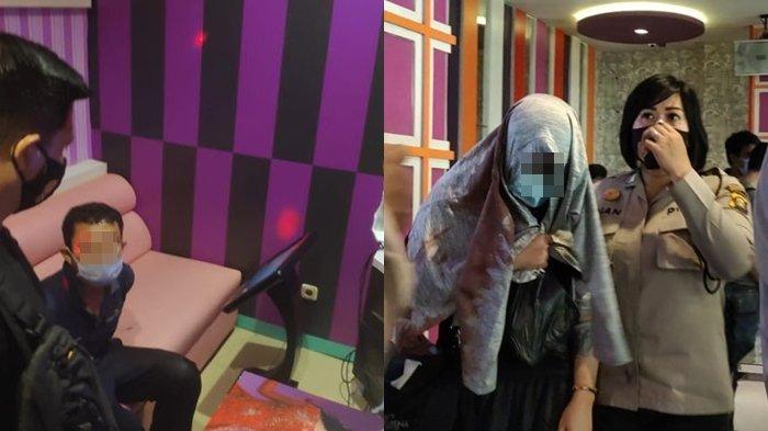 Darah R Mendidih Lihat Istrinya Karaoke dan Makan Bareng Pria Lain, Terjadi Duel Security Kewalahan