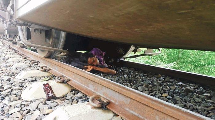 Detik-detik Kaki Darus Terlindas Kereta Babaranjang di Muaraenim, Warga Sudah Berteriak untuk Menepi