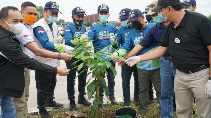 Gandeng Forum DAS Sumsel, PLN Tanam 600 Pohon di Kawasan JSC Jakabaring