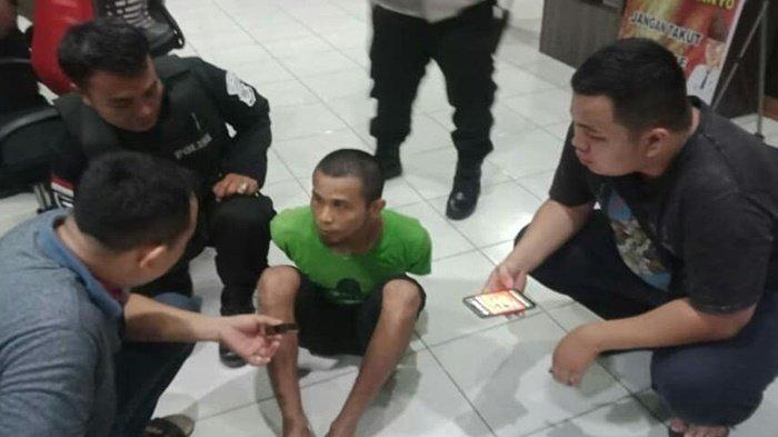 TENGAH MALAM, Sendirian di Gudang, M Dayat Keburu Dipergoki Team Hunter Polrestabes Palembang