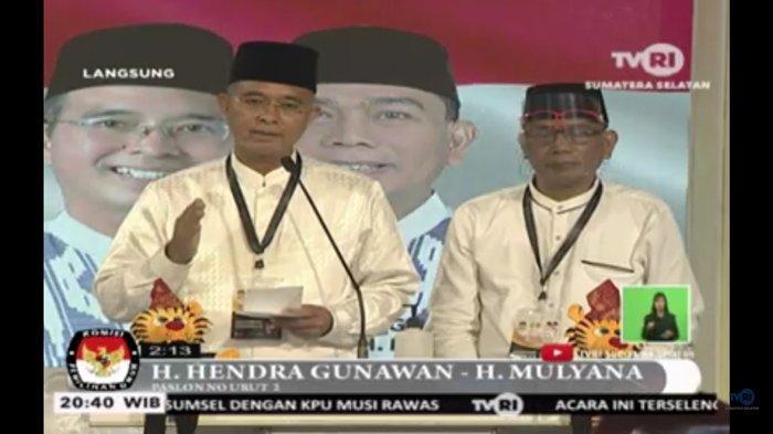 Cabup Hendra Gunawan (H2G)-Mulyana Pamerkan Musirawas Dapat Reward Berhasil Atasi Covid-19