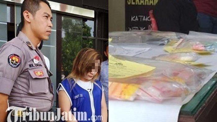 Demi Rp 15 Juta, Wanita Ini Rela Kesakitan, Sembunyikan Sabu di Kemaluan dari Malaysia ke Surabaya